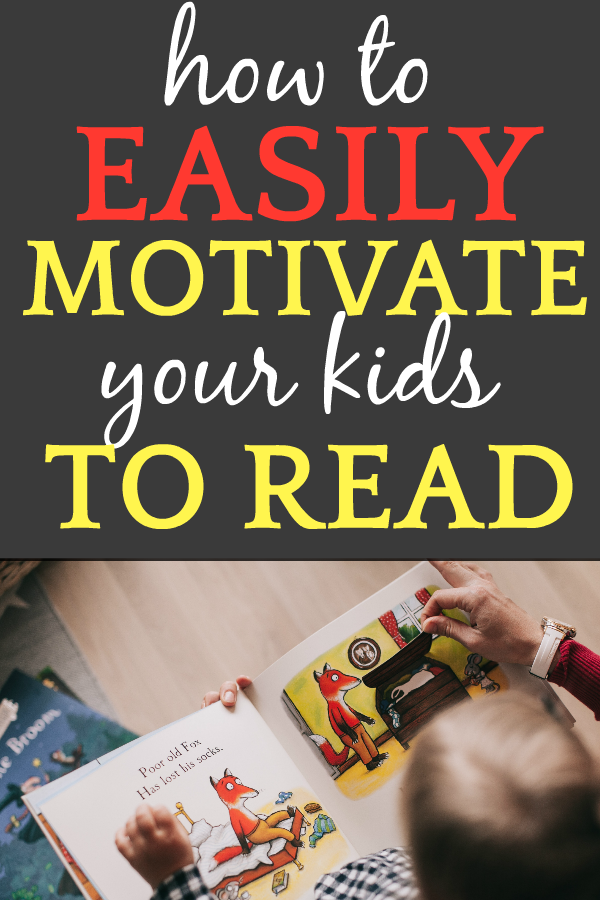 How To Motivate Your Child to Read: small child reading a book