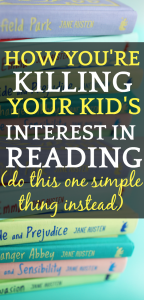 Teaching HOW TO READ Is Sucking All The Fun (DO THIS INSTEAD): stack of different colored books with text writing over the picture