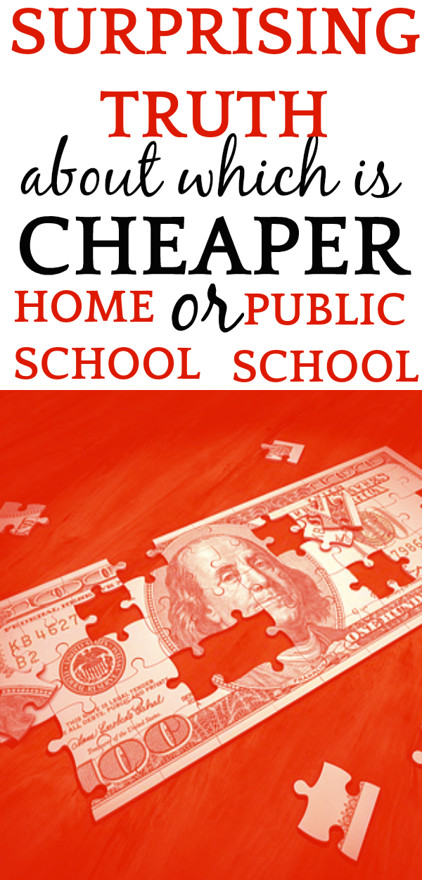 Cost of Homeschool vs Public School: WHICH ONE IS CHEAPER?