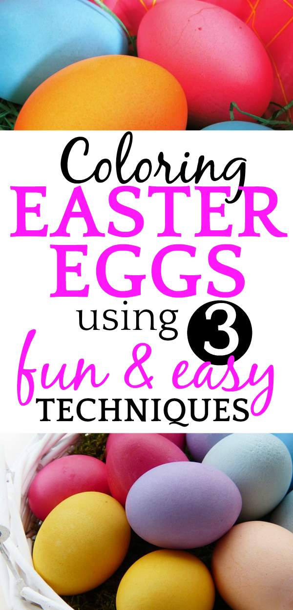 ULTIMATE GUIDE to Coloring Easter Eggs + FREE PRINTABLE