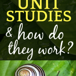 What Is a Homeschool Unit Studies Curriculum? snail on a leaf