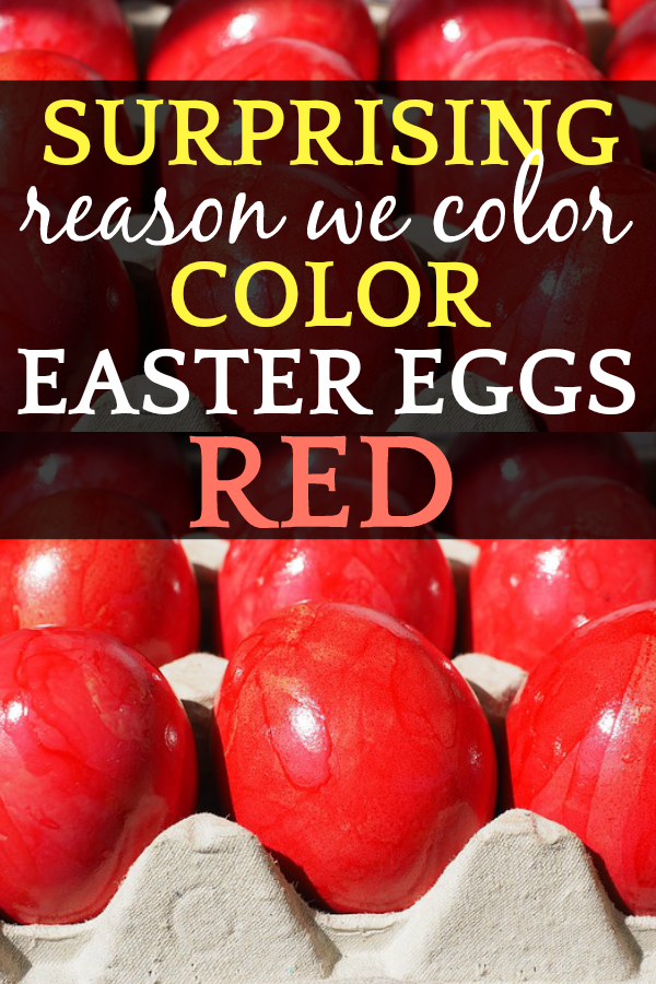 What does red egg symbolize?