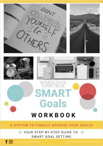 Get your FREE SMART Goals Worksheet and Workbook