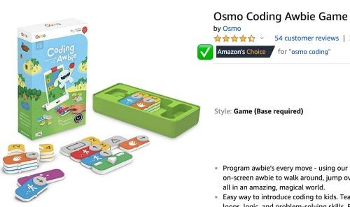 Osmo Coding Awbie Game: Amazon's Choice