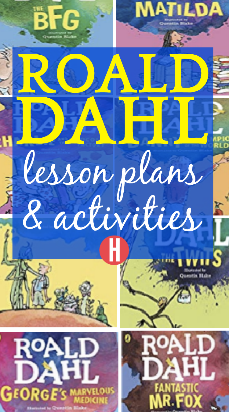 Roald Dahl Books, Activities, and Lesson Plans for Roald Dahl Day and More