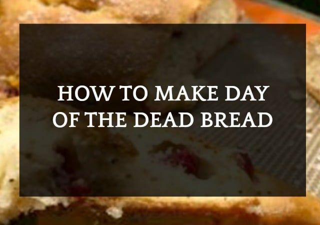 Day of the Dead Food Bread