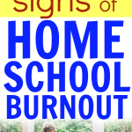 Homeschool Burnout Warning Signs
