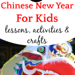 chinese new year dancing dragon with words 27 Chinese New Year For Kids Activities, Crafts, Lessons, and Projects over it