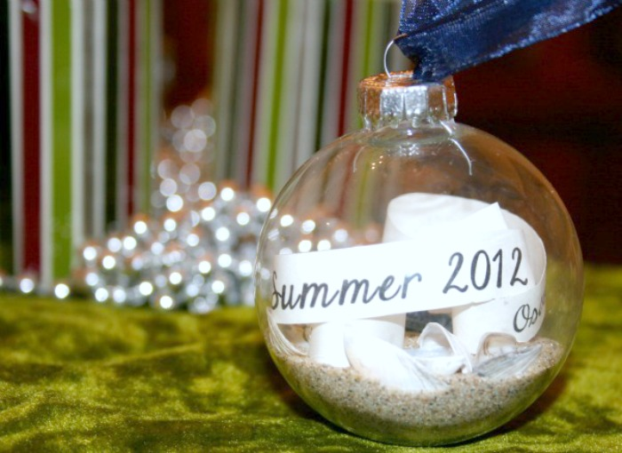 Make Keepsake Ornaments