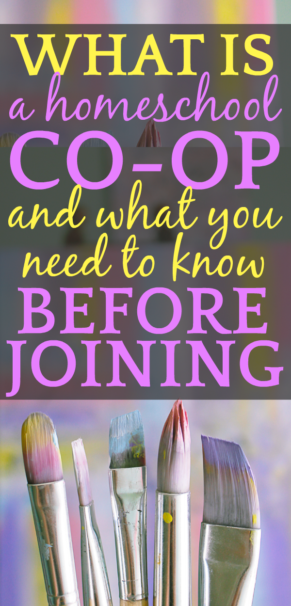 What is a homeschool co-op and what you MUST know BEFORE joining!