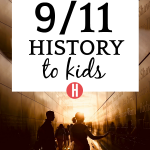 13 Resources on Teaching 9/11 For Kids: Understanding September 11 shadows of people walking through the 9/11 memorial in new york
