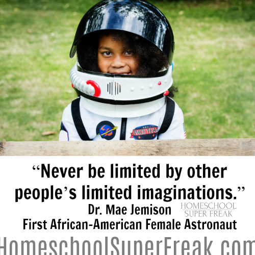 Black History Month Quotes: Never Be Limited by the First African American Female Astronaut
