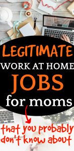 ULTIMATE GUIDE ON HOW TO MAKE MONEY FROM HOME | 12 Best Jobs for Moms Who Homeschool [UPDATED]: looking at a work table with laptop and papers from above