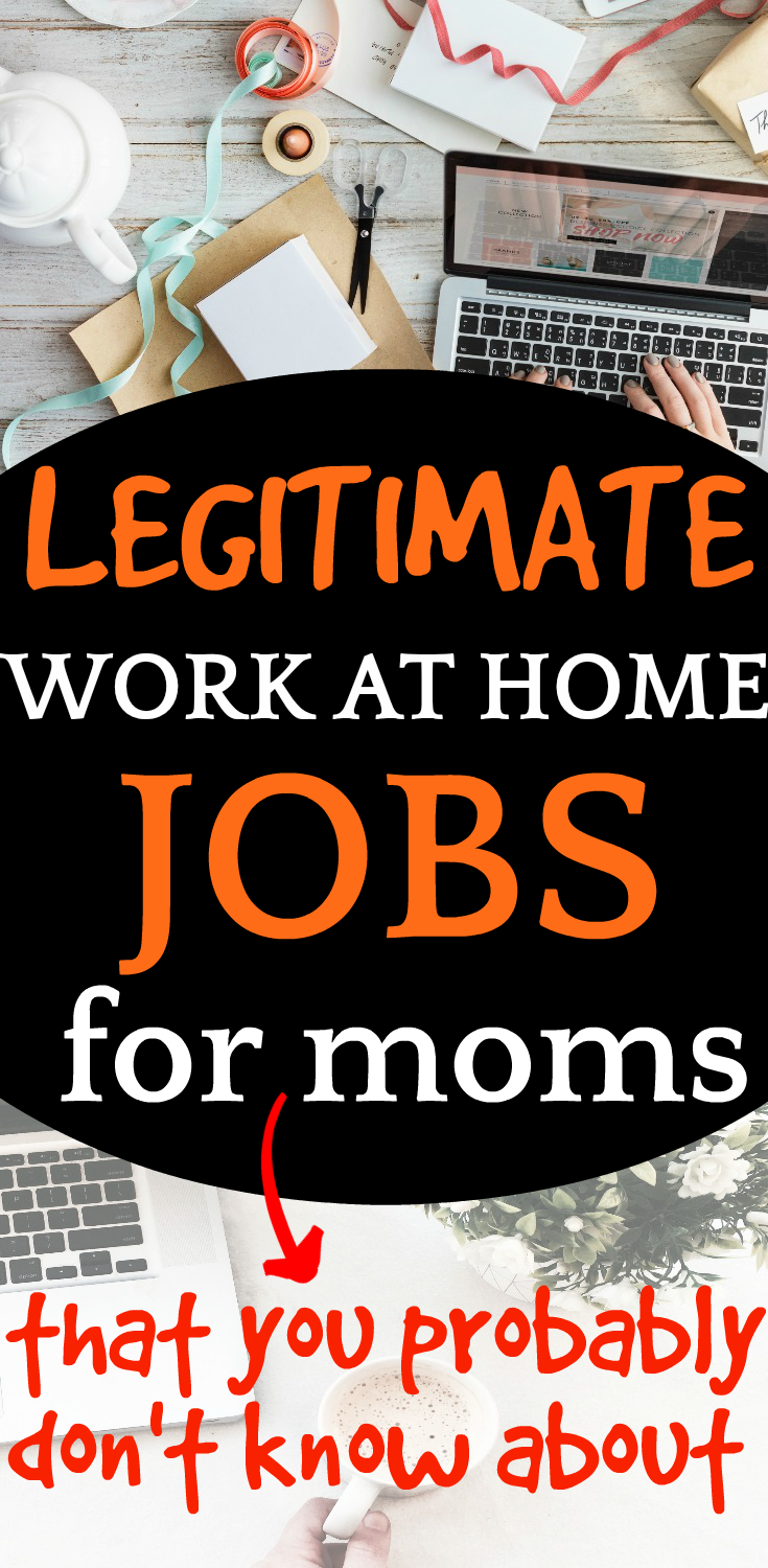 Best Jobs for Moms who Homeschool looking at a work table with laptop and papers from above