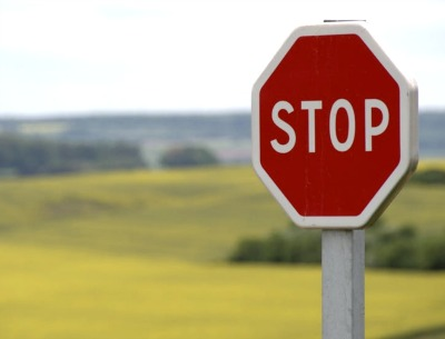 When To Stop Deschooling a stop sign