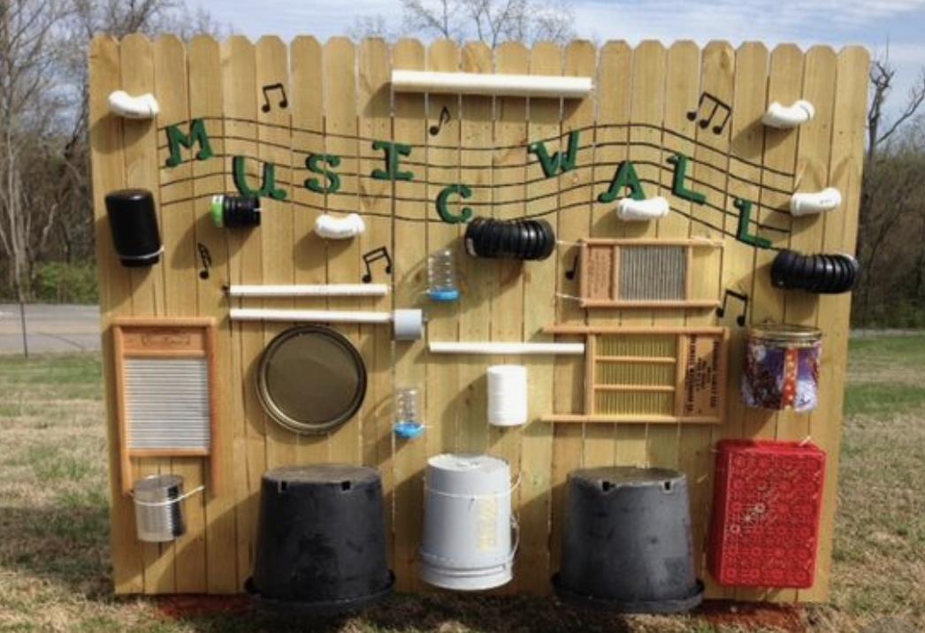 Creating Outdoor Classrooms #2: Make Some Noise with an Outdoor Musical Wall