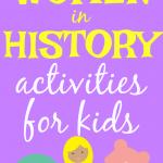 Women's History Month Activities for Kids