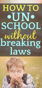 How To Start Unschooling (LEGALLY)