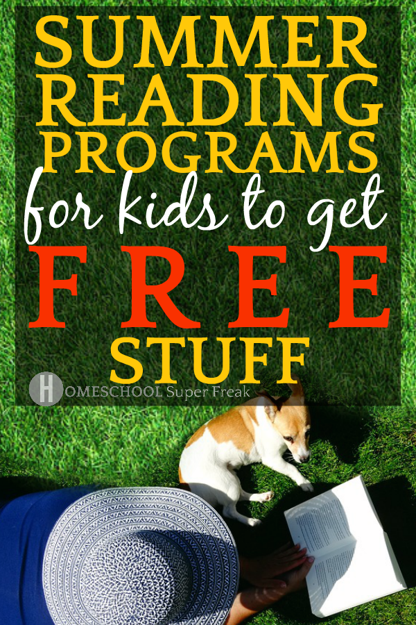 10 Summer Reading Programs for Free Stuff [UPDATED 2019