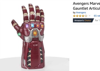 Black Friday Toy Deals Avengers Articulated Electronic Fist
