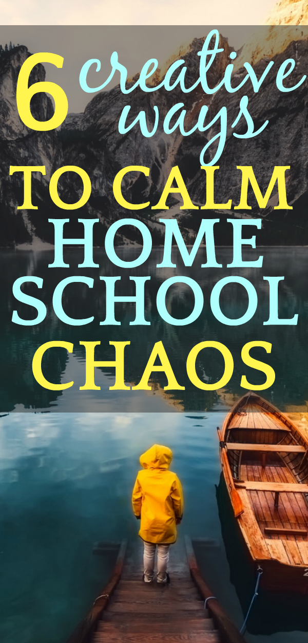 How to Be Happy in Homeschool | 6 Systems To Calm Homeschooling Chaos