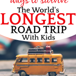 13 Ways To Survive The WORLDS LONGEST ROAD TRIP with Kids