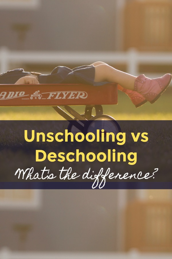 Unschooling vs Deschooling: What is it?