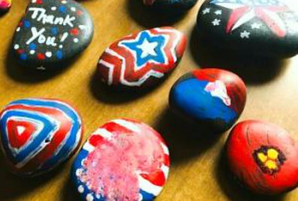How To Make Kindness Rocks For Being Thankful Activities Homeschool Super Freak