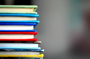 What is the curriculum for homeschooling? stack of textbooks