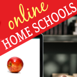 Beware Free Online Homeschooling (LikeTuition-Free Online & Virtual Public School Programs): laptop computer with an apple on the screen