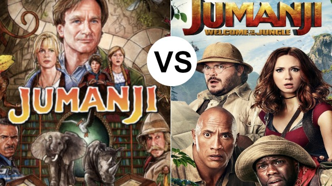 COMPARE AND CONTRAST: 29 Jumanji Lesson Plans and Activities (Book and Movie) characters from the jumanji movies