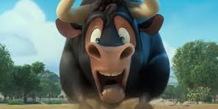 Ferdinand the Bull Lesson Plans: Book Movie: Ferdinand the Bull cartoon character from the movie