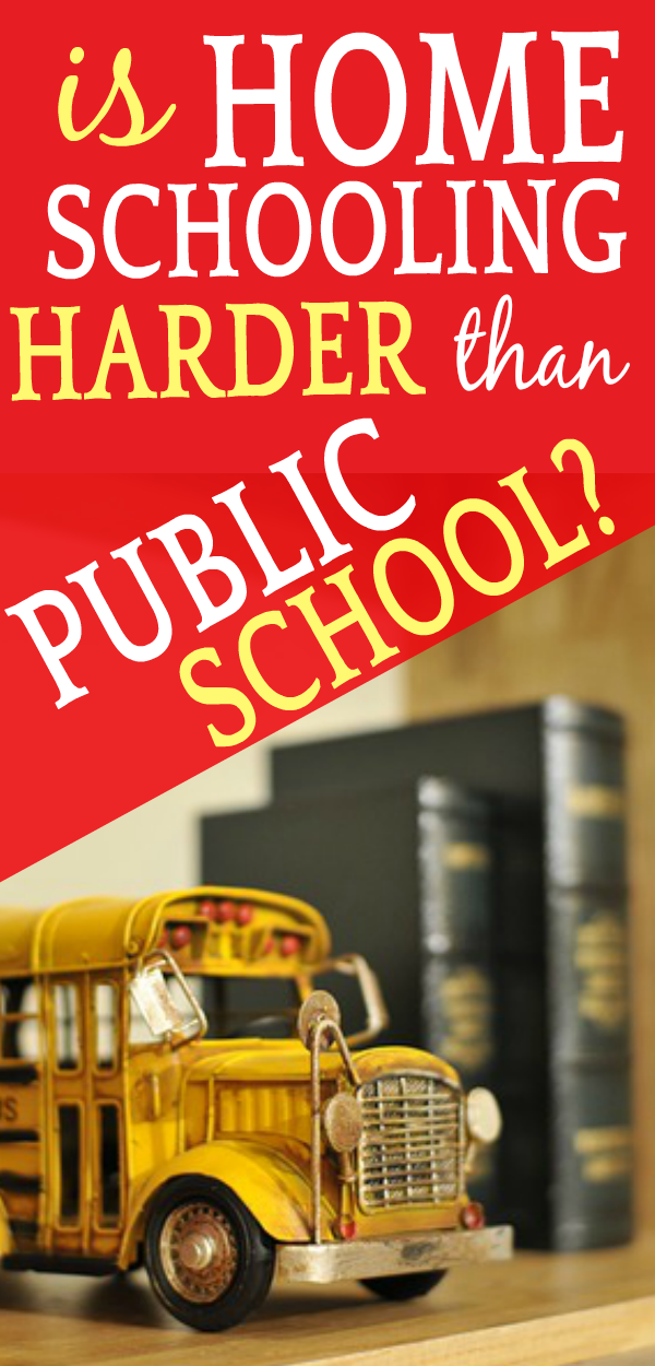 Homeschooling vs Public School: Which is Better? school bus toy sitting on a bookshelf