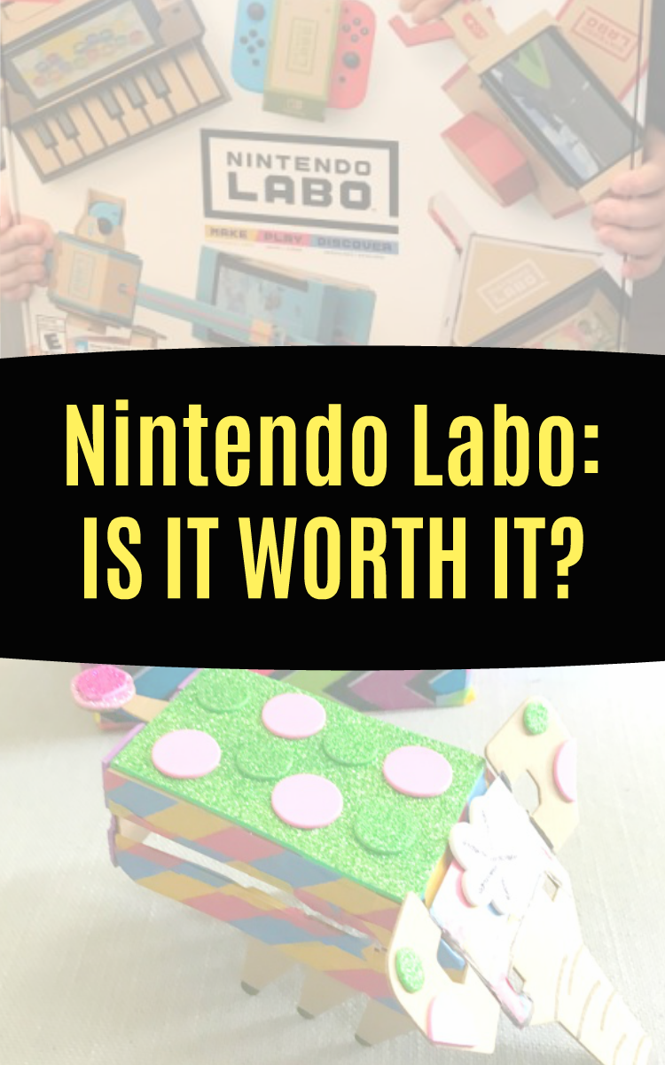[UNPAID] Honest Nintendo Labo Review for Switch (Is It Worth It?)