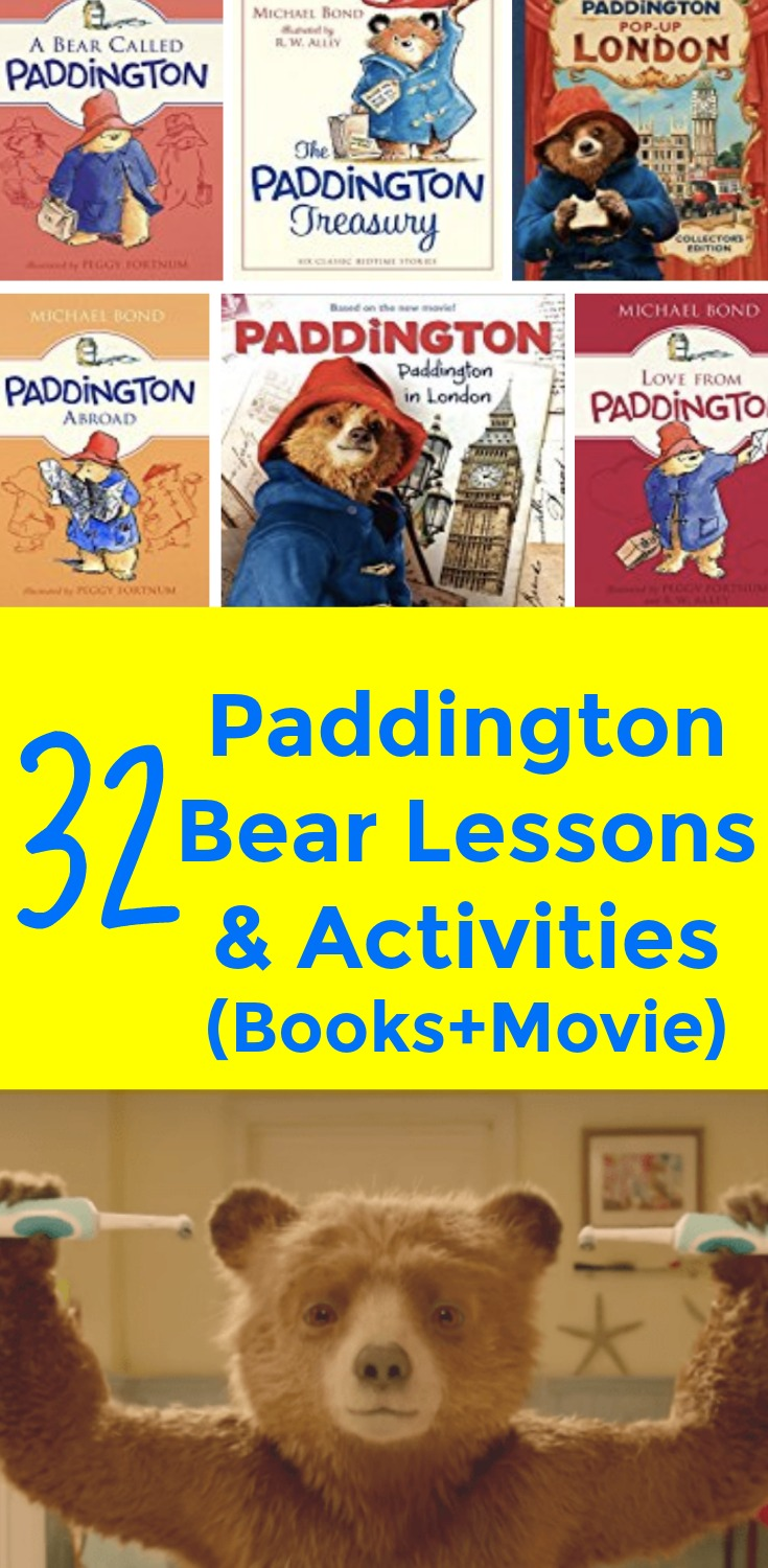 32 Paddington Bear Craft Activities, Lesson Plans, and Paddington Bear Teaching Resources