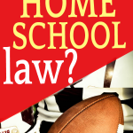 What is the Tim Tebow Homeschool Law: Can Homeschoolers Play Sports for Public Schools? hand holding a football