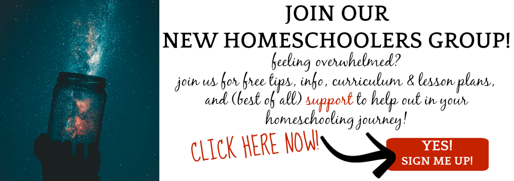 New to Homeschooling? Join our Homeschooling Group!