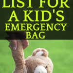 Comprehensive Emergency Kit CheckList for Kids