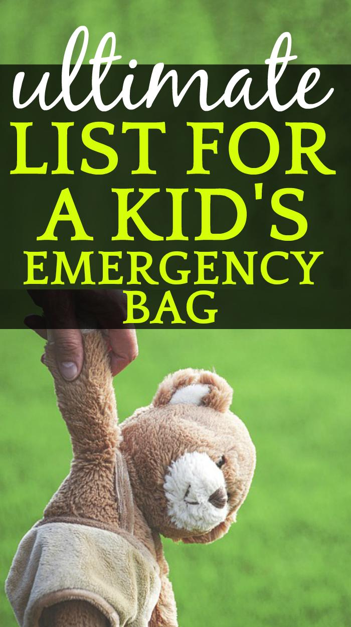 Comprehensive Emergency Kit List for Kids