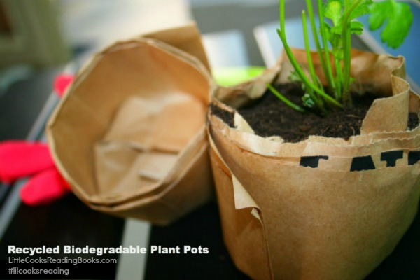 Earth Day Activities for Kids: Make Biodegradable Planting Pots