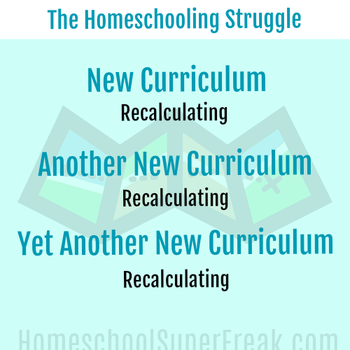 Funny Homeschooling Memes #6: Choosing New Homeschool Curriculum Struggle