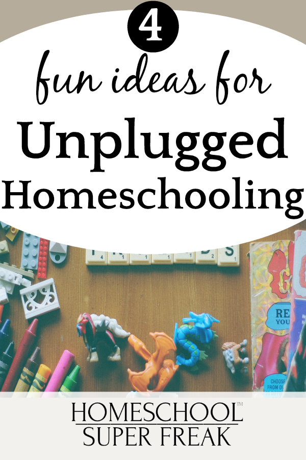 How To Homeschool Without Internet | 4 Ideas for Unplugged Homeschooling and Fun Offline Homeschooling Programs