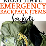 Preparing An Emergency Go Bag for Kids