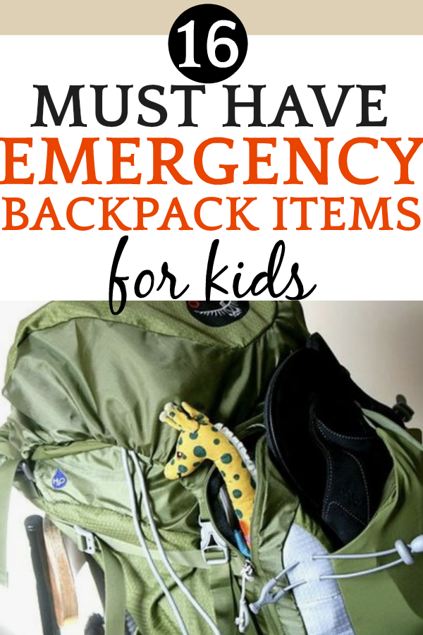 How To Make a Children's Survival Kit for Emergencies | Comprehensive Emergency Kit List