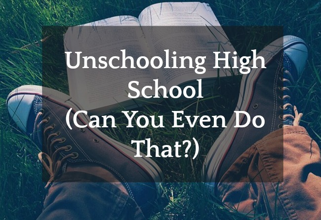 Unschooling High School (Is It Legal To Do That?) tennis shoes with a book between the feet on the grass