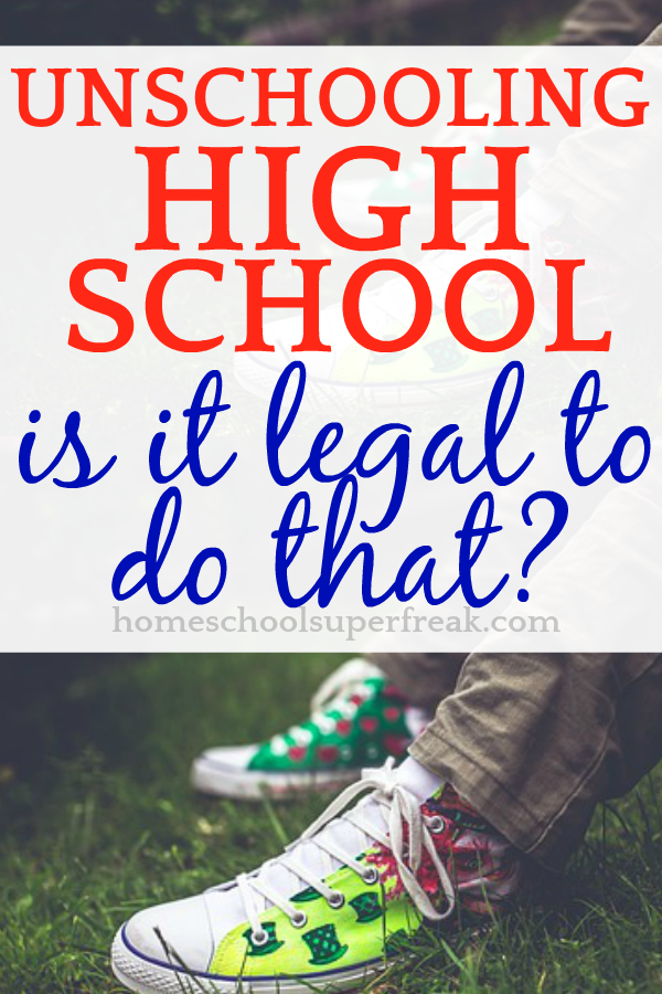 Unschooling High School (Is It Legal To Do That?) brightly colored teen tennis shoes