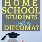 flat rocks with graduation hats and diplomas