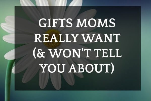 'Thank You Mom' Gift Ideas That Mothers Won't Tell You They Want with a single flower