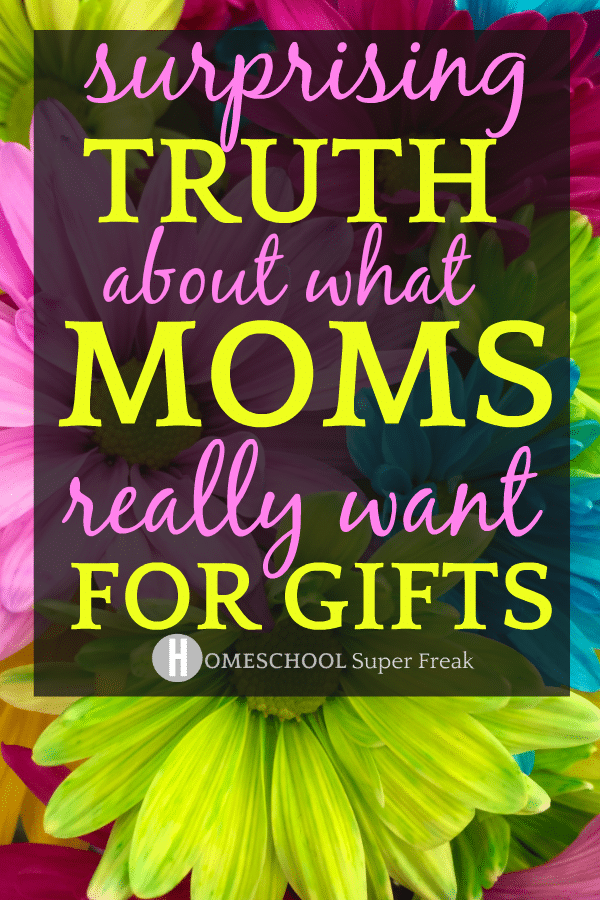 'Thank You Mom' Gift Ideas That Mothers Won't Tell You They Want with bold flowers of different colors