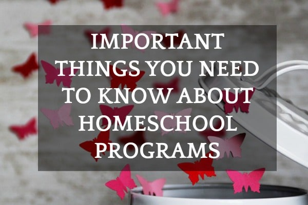 Important Info About Homeschool Programs To Know Before Signing Up